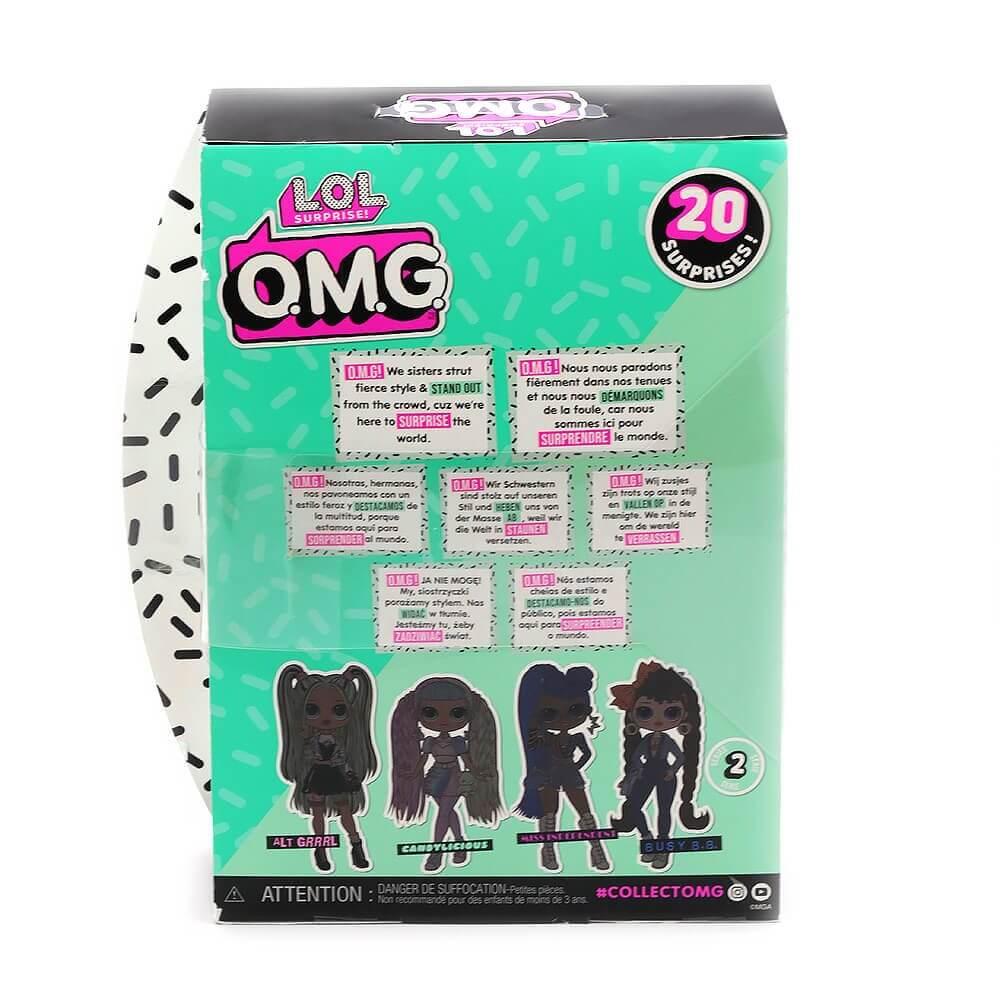 Большая кукла LOL Surprise OMG Candylicious Fashion Doll с 20 сюрпризами - 4